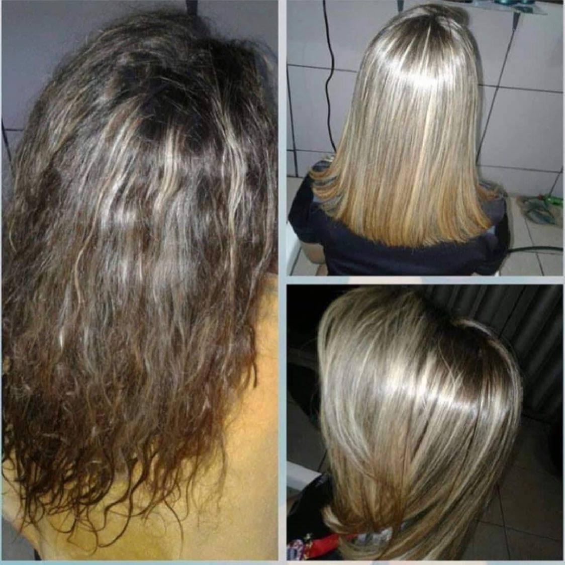 Gold Spell Lisos: Pode usar em cabelo loiro?